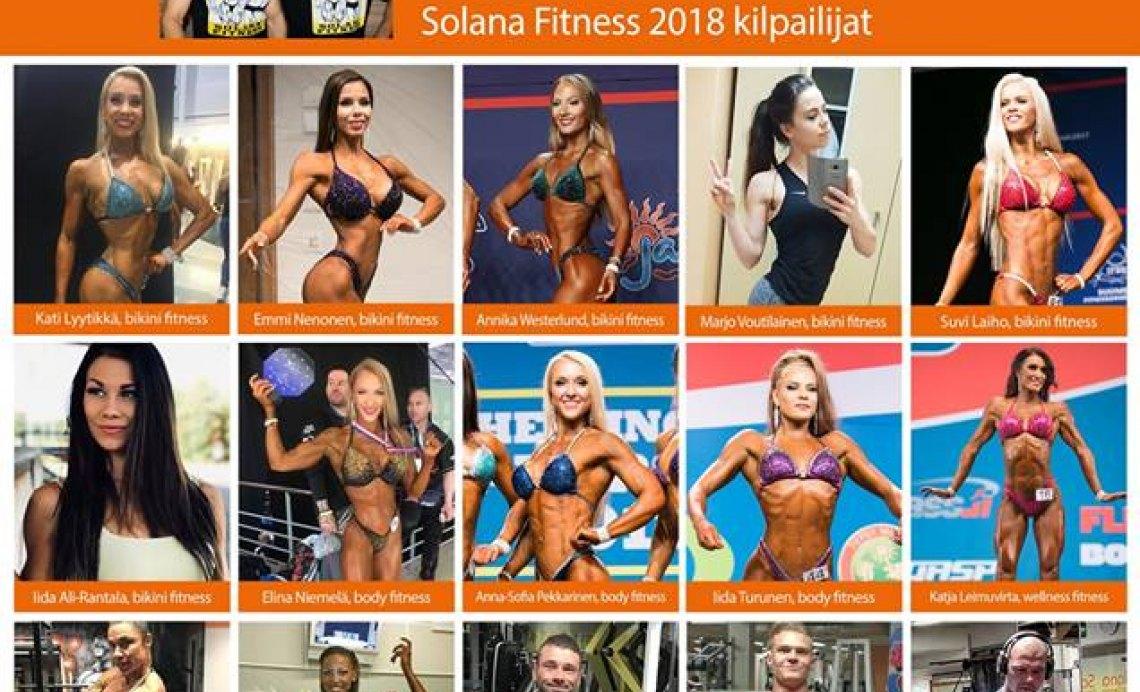 Solana Fitness, Kilpailijat, Tiimi