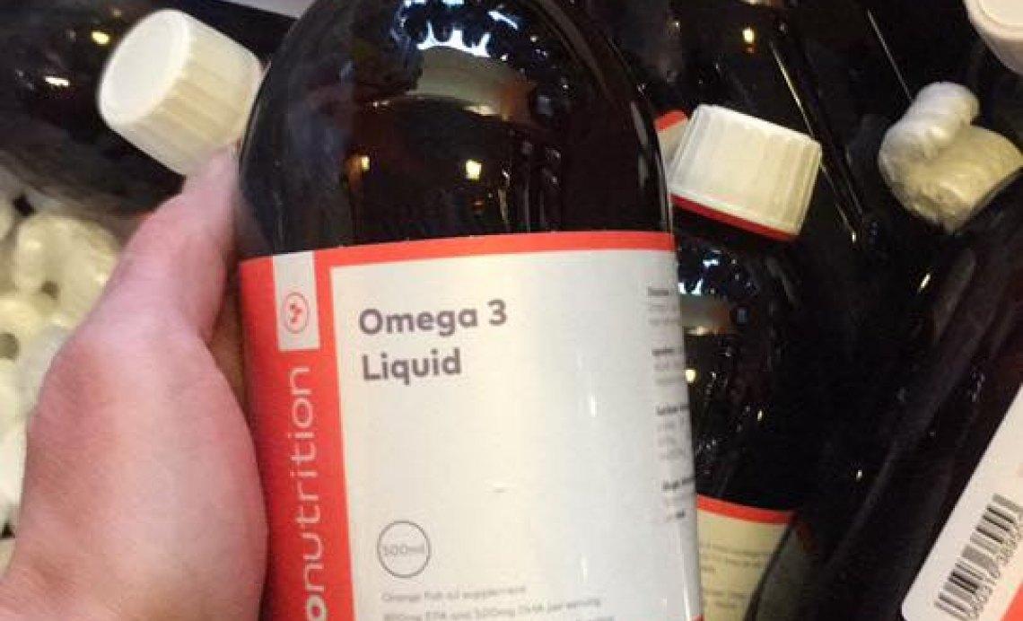 Omega- 3 öljy